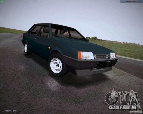 Drenar VAZ 21099 para GTA San Andreas