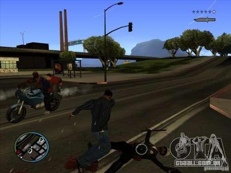 GTA IV TARGET SYSTEM 3.2 para GTA San Andreas sétima tela