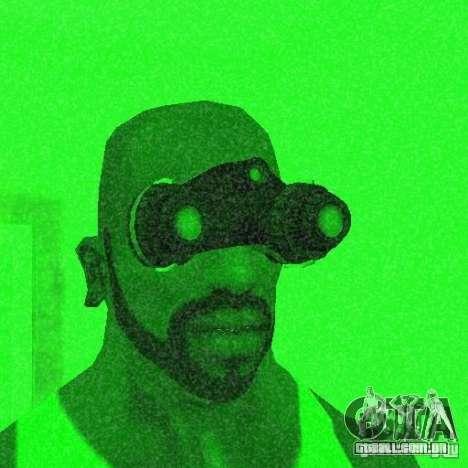 Goggles HD para GTA San Andreas por diante tela