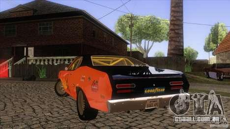 Plymouth Duster 440 para o motor de GTA San Andreas