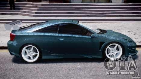 Toyota Celica Tuned 2001 v1.0 para GTA 4 vista inferior