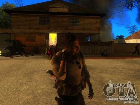 Animation Mod para GTA San Andreas sexta tela