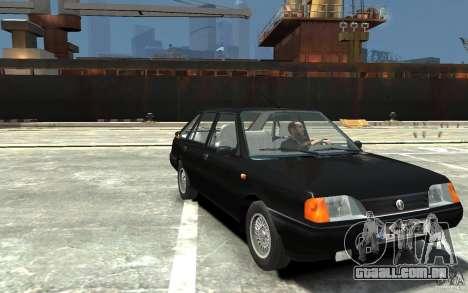 FSO Polonez Caro 1.4 16V para GTA 4 vista de volta