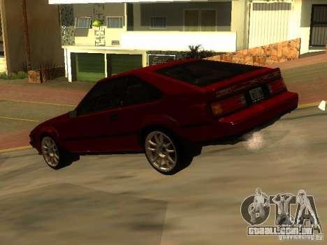 Toyota Celica Supra para GTA San Andreas esquerda vista