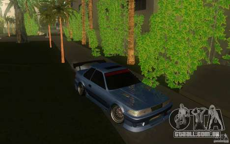 Toyota Soarer GZ20 para GTA San Andreas vista traseira