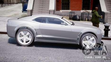 Chevrolet Camaro 2009 para GTA 4 vista de volta