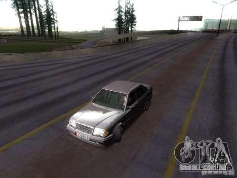 Mercedes-Benz E500 W124 para GTA San Andreas vista direita