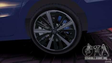 Peugeot 508 Final para GTA 4 vista de volta