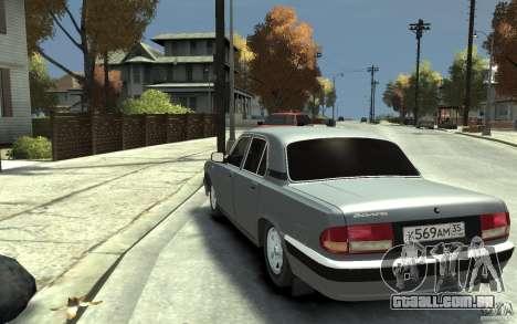 GAZ Volga 31105 para GTA 4 traseira esquerda vista