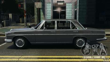 Mercedes-Benz 300Sel 1971 v1.0 para GTA 4 esquerda vista