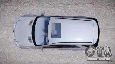 Mercedes-Benz ML63 AMG v2.0 para GTA 4 vista direita
