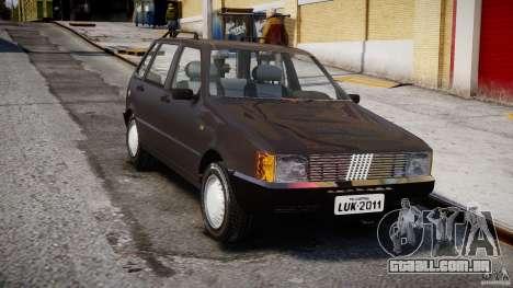 Fiat Uno 70SX 1989-1993 para GTA 4