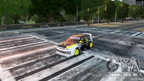 Subaru Impreza WRX STI Rallycross Monster Energy para GTA 4