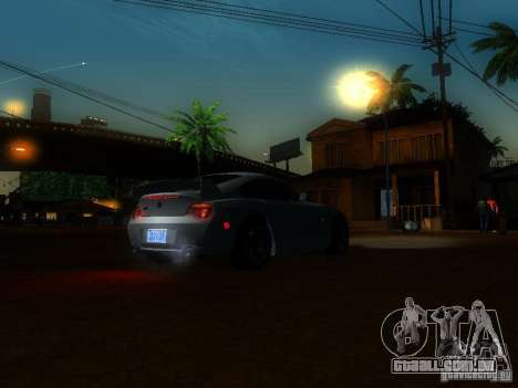 BMW Z4 M 07 para vista lateral GTA San Andreas
