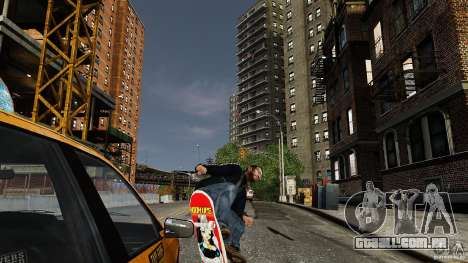 Skate # 3 para GTA 4 vista direita