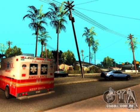 ENB For medium PC para GTA San Andreas oitavo tela