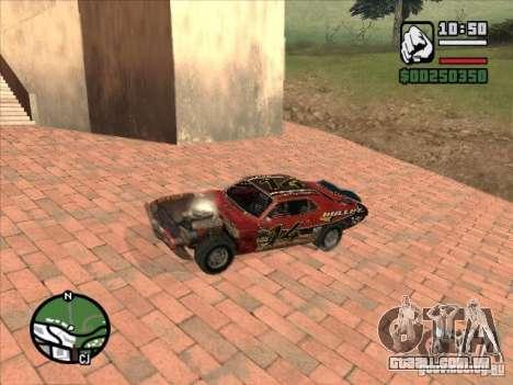 FlatOut bullet para GTA San Andreas vista traseira