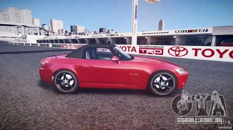 Honda S2000 2002 v2 para recozimento para GTA 4 esquerda vista
