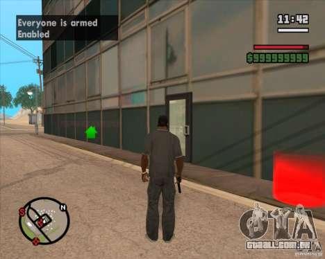 CJ-prefeito para GTA San Andreas segunda tela