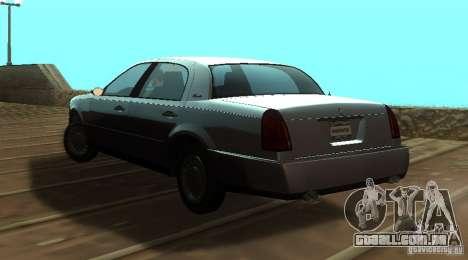 Washington de GTA IV para GTA San Andreas esquerda vista