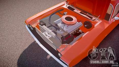 Dodge Challenger v1.0 1970 para GTA 4 vista inferior