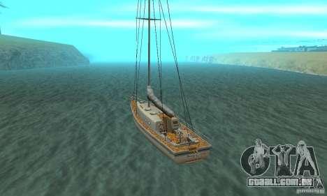 Marquis HD para GTA San Andreas traseira esquerda vista