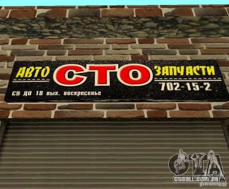 New Transfender: CTO para GTA San Andreas por diante tela