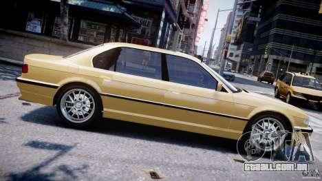 BMW 750i v1.5 para GTA 4 esquerda vista