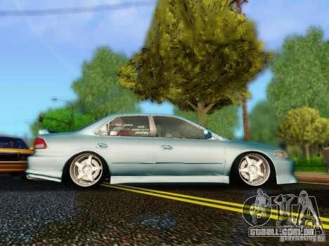 Honda Accord 2001 para GTA San Andreas traseira esquerda vista