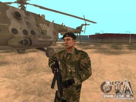 Pára-quedista soviético para GTA San Andreas