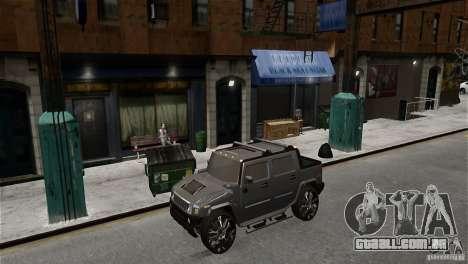 Hummer H2 SUT para GTA 4