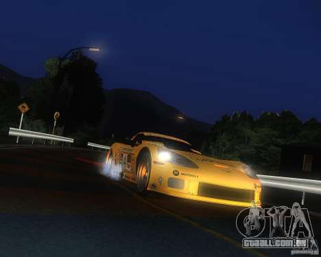 Chevrolet Corvette Drift para GTA San Andreas