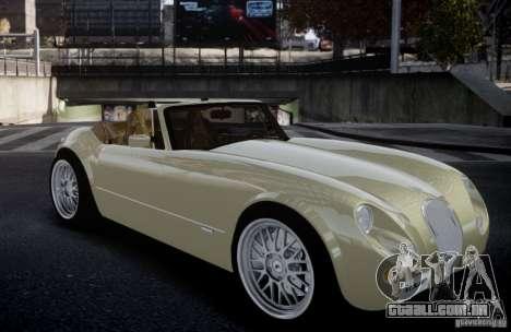 Wiesmann MF3 Roadster Final para GTA 4 traseira esquerda vista