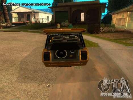 VAZ 2104 tuning para GTA San Andreas vista traseira