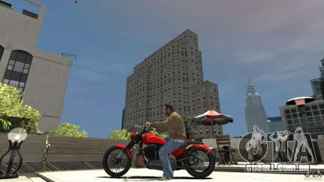 The Lost and Damned Bikes Nightblade para GTA 4