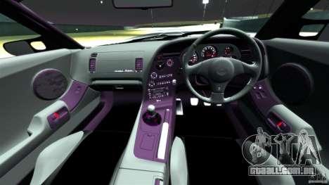 Toyota Supra Top Secret para GTA 4 vista de volta