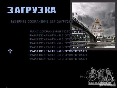 Tela de boot Moscou para GTA San Andreas décimo tela
