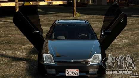 Honda Prelude SiR VERTICAL Lambo Door Kit para GTA 4 esquerda vista