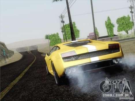 Lamborghini Gallardo LP640 Vallentino Balboni para GTA San Andreas vista direita