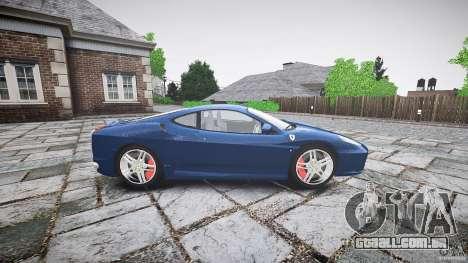 Ferrari F430 v1.1 2005 para GTA 4 esquerda vista
