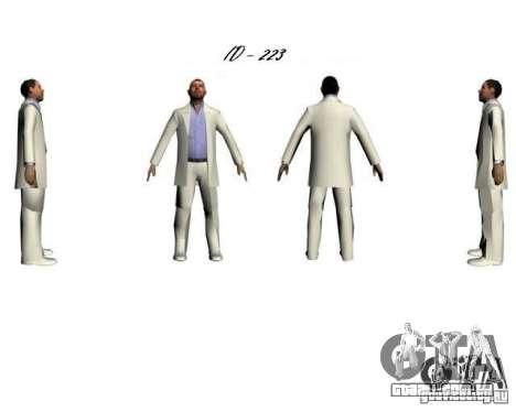 La Cosa Nostra para GTA San Andreas quinto tela