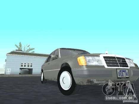Mercedes-Benz 250D para GTA San Andreas vista traseira
