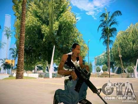 Armas Pack HD para GTA San Andreas sexta tela