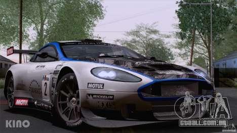 Aston Martin Racing DBRS9 GT3 para GTA San Andreas vista superior