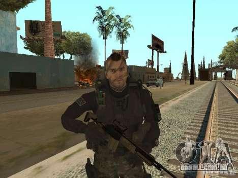 Captain MacTavish para GTA San Andreas