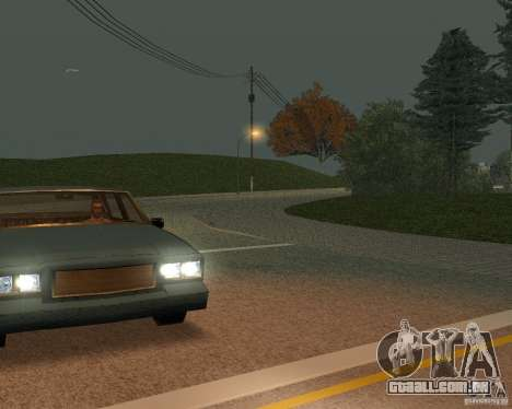 Novas estradas em San Fierro para GTA San Andreas sexta tela