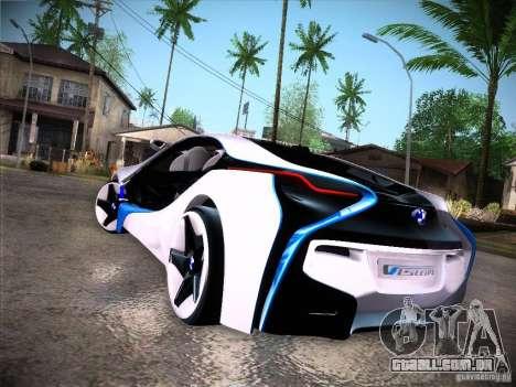 BMW Vision Efficient Dynamics I8 para GTA San Andreas vista direita