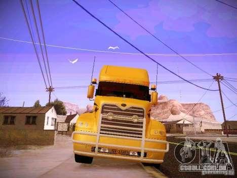 Mack Vision para GTA San Andreas vista interior
