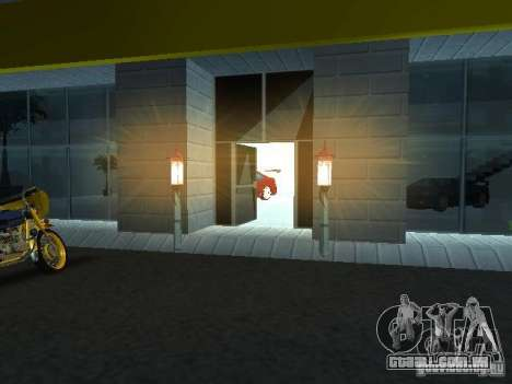 Novo showroom em San Fierro para GTA San Andreas terceira tela