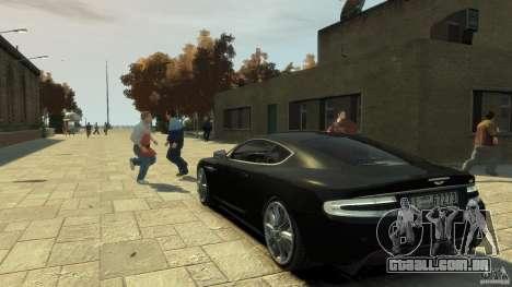 Aston Martin DBS Coupe v1.1f para GTA 4 traseira esquerda vista